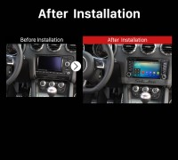 2006 2007 2008 2009 2010-2013 Audi TT Car Radio after installation