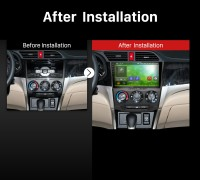 2013 2014 2015 Honda CRIDER Car Radio after installation