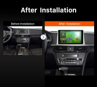 2016 Kia K5 Car Stereo after installation