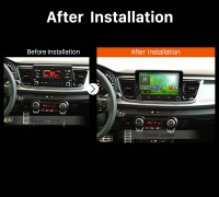 2017 KIA RIO Car Stereo after installation