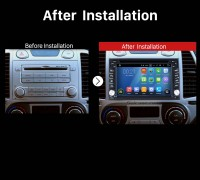 2002 2003 2004 2005 2006-2011 Nissan MURANO Bluetooth GPS DVD Car Radio after installation