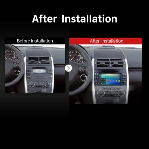2004 2005 2006 2007 2008-2012 Mercedes Benz B Class W245 B150 B160 B170 B180 B200 B55 car radio after installation