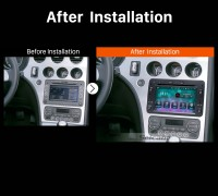 2006 2007 2008 2009 2010-2013 Alfa Romeo BreraCar Radio after installation