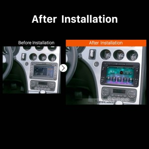 2006 2007 2008 2009 2010-2013 Alfa Romeo Brera Car Radio  after installation
