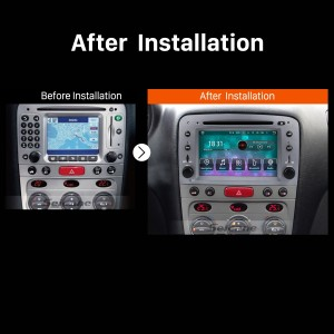 2007 2008 2009 2010 2011-2013 Alfa Romeo GT Stereo Audio System after installation
