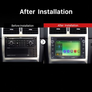 1998 1999 2000 2001 2002-2009 VW Volkswagen T4 T5 Sharan Bluetooth DVD GPS Car Radio after installation
