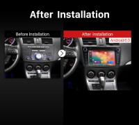 2009 2010 2011 2012 Mazda 3 Car Radio after installation