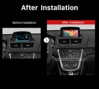 2013 OPEL MOKKA GPS Bluetooth Car Radio after installation