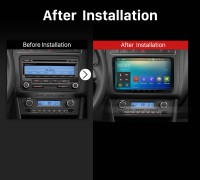 2003 2004 2005 2006 2007-2010 Skoda Roomster Touch Screen Car Radio after installation