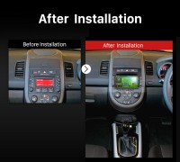 2012 2013 2014 KIA SOUL Car Radio after installation