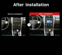 2005 2006 2007 2008-2013 Suzuki Grand Vitara Radio after installation