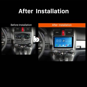 2006 2007 2008 2009-2011 Honda CRV car radio after installation