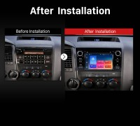 2006 2007 2008 2009-2013 Toyota Tundra Car Radio after installation