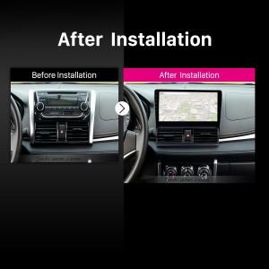 2013 2014 Toyota Vios Car Radio after installation