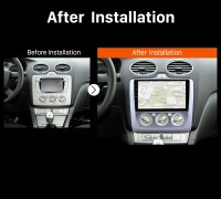 2004 2005 2006 2007-2011 Ford Focus Exi MT Car Radio after installation