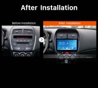 2012 PEUGEOT 4008 car radio after installation