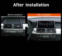 2011 2012 2013 2014 BMW X5 E70 X6 E71 CCC car radio after installation