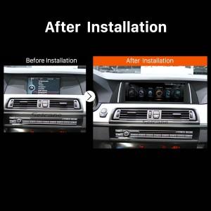 2013 2014 2015 2016 BMW 5 Series F10 F11 NBT car radio  after installation