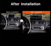 2011 2012 2013 2014-2016 BMW 1 Series F20 F21 (RHD) car radio after installation
