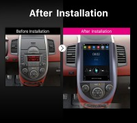 2015 Kia Soul car radio after installation